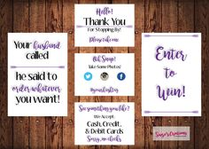 PRINTABLE Vendor Table | Direct Sales | Affiliate | Vendor | Events | Shop | Small Business by SuzesCreations on Etsy