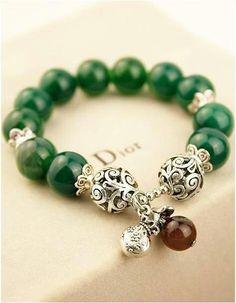 Panda Hall gemstone bracelet