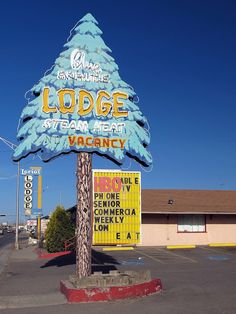 Blue Spruce Lodge. Along Route 66, Gallup, New Mexico.