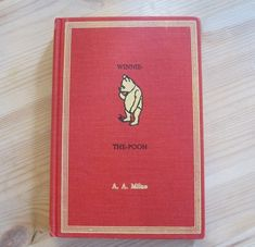 Winnie the Pooh vintage book by A.A. Milne by OldenDaysBooks