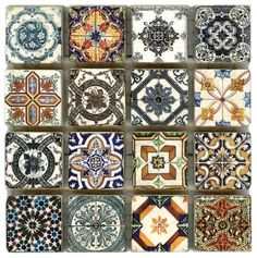 Bohemian Swimming Pool Tile- EXACTLY what I would do in a pool.