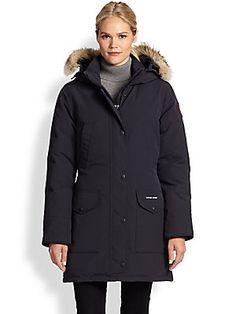 Canada Goose mens replica fake - CANADA GOOSE Trillium Fur-Hood Parka Jacket. #canadagoose #cloth ...