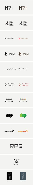 Logos/Mark by Rijin Kunnath, via Behance