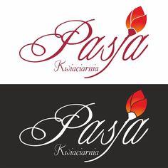 Logo dla kwiacarni Pasja #projektgraficzny #graphicdesign #logo #kwiaciarnia #kielce #mgraphics #buskozdroj #nadajemyksztaltypomyslom www.mgraphics.eu