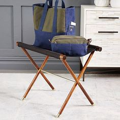 Need for guest room - Luggage Rack #westelm