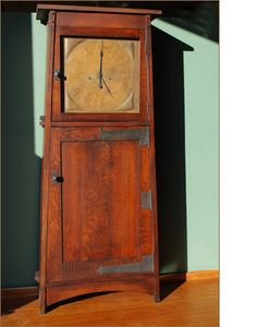 """""""Asheville Clock"""" from Caledonia Studios / reproduction from a clock in the Grove Park Inn in Ashville, NC"""
