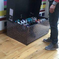 Build Your Own Jordan Shoe Box