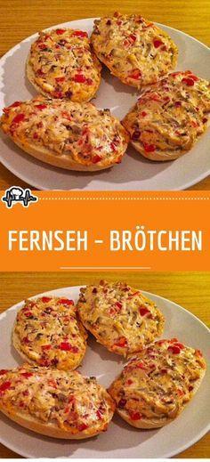 Simple Muffin Recipe, Healthy Muffin Recipes, Clean Eating Recipes, Healthy Muffins, Easy Recipes, Pizza Recipes, Snacks Pizza, Snacks Für Party, Breakfast Pizza