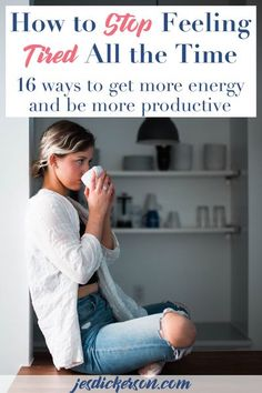 Are you tired ALL THE TIME? Join the club. There are a LOT of us. But it doesn't have to be that way. Lear to build more energy and spend it more wisely in this article. #productive #tired #tip #trick #lifehack #energy #coach #personaldevelopment #selfca Mental Health Blogs, Women's Health, Getting More Energy, Work Life Balance, Feel Tired, Self Improvement, New Trends, That Way, Self Help