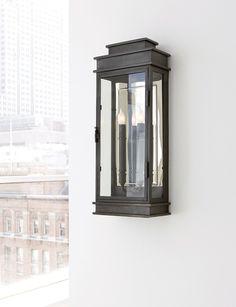 tall linear lantern -- designer sandy chapman -- circa lighting