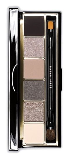 smokey, sparkly eyeshadow palette