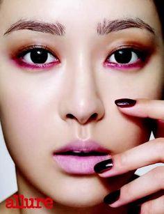 So Young Allure Korea Magazine October Issue Eye Makeup, Monolid Makeup, Makeup Art, Beauty Makeup, Hair Makeup, Best Makeup Brushes, Best Makeup Products, Cheap Mac Makeup, Real Techniques Brushes