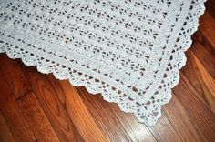 Detail of Heirloom Lacy from the Best of Terry Kimbrough Baby Afghans