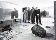 """""""this is tomorrow"""" (1956), whitechapel art gallery, london, curated by lawrence alloway. installation view with works by nigel henderson, eduardo paolozzi, allison smithson and peter smithson"""