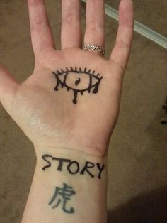 Top sharpie permanent marker images for pinterest tattoos for Permanent marker tattoo