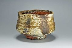 Shiho Kanzaki -Shigaraki, anagama, ten-day anagama wood firing, with natural ash deposits tea bowl. chawn-25