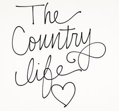 The County Life <3