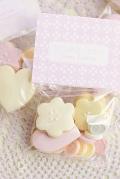 Bonboniere Cookies, sweet favours.