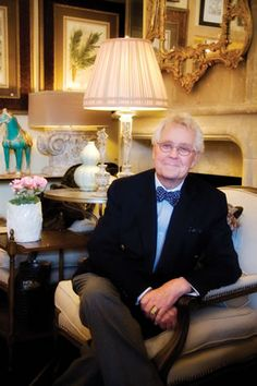 Charles Faudree- greatest designer of Country French & a dear man.  (Feb. 27,1938- Nov. 27, 2013)