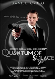 Artists from around the world compete in the Quantum of Solace, the James Bond 007 movie, poster contest. Full coverage at Universal Exports, the home of Quantum of Solace and James Bond, James Bond Movie Posters, James Bond Movies, Cinema Posters, Casino Royale, Style James Bond, Marc Forster, Capas Dvd, Daniel Craig James Bond, Movies And Series