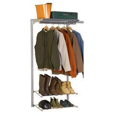 "Triton Products 63"" H Garment Storage System & Reviews | Wayfair"