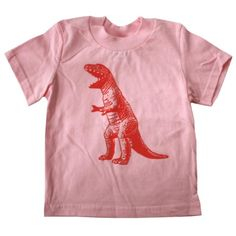 6c6731c1b Happy Family T Rex Dinosaur Light Pink Baby Girl T Shirt (5 6 T)