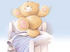 cute cartoon bears bed cartoon abstract animals baby bear bear