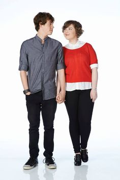 Munro Chambers as (Eli) and Aislinn Paul as (Clare) #Degrassi