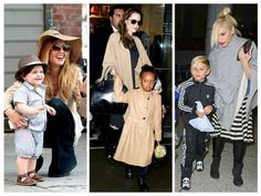 Kids Fashion Celebrities' kids fashion and everything that has to do with what famous celebrities' offspring are wearing have been all over the news, media and tabloids. Whatever these celebrity kids may wear–onesies, burp cloth, pajamas or even a blanky– they always look adorable