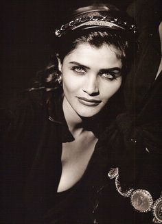 """""""Wild At Heart"""" Helena Christensen by Peter Lindbergh - Vogue US, September Helena Christensen, Peter Lindbergh, The New Yorker, 90s Models, Runway Models, Fashion Models, High Fashion, Michael Hutchence, Portraits"""