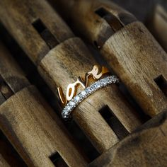 Love Ring, Delicate, Jewelry Making, In This Moment, Elegant, Collection, Design, Classy