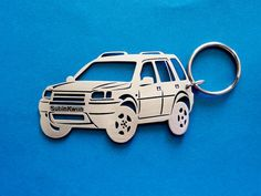 Land Rover Freelander Personalized Key Chain by GuestFromThePast