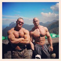 Antoine Vaillant and Frank McGrath