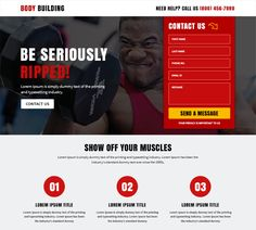 Use our responsive health and fitness landing page design template to capture quality leads and boost your conversion rate.