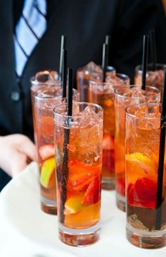 Signature Drink Ideas: Photo by Amy Raab Photography on Bayside Bride