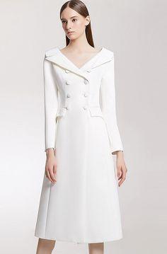 Designer clothing by avouavou 아보아보 Blazer Dress, Coat Dress, I Dress, Elegant Dresses, Beautiful Dresses, Royal Clothing, Classy Dress, Office Outfits, Mode Style