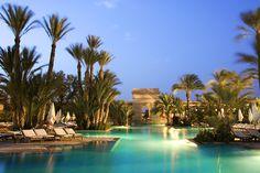 Piscina principal en Club Med Marrakech La Palmeraie - Marruecos