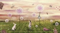 Dandelion Wonderland by Me