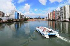 Resultado de imagem para rio capibaribe vista aerea