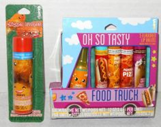 Claire's Lip Balms Oh So Tasty Food Truck Chicken Nugget Pizza Nacho Cheese New   eBay