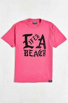 Lifes A Beach La Beach Tee - Urban Outfitters