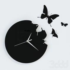 "Часы ""Бабочки"""