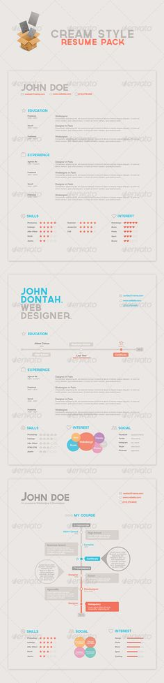 Leonie Southerly Resume Template  Get  Designs In  Bundle