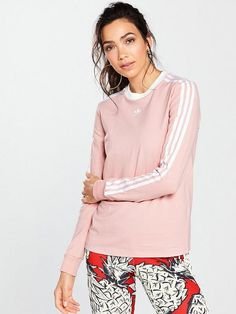 Shop at Ireland's largest online department store for all of the latest fashion, gadgets and homewear with FREE delivery and FREE returns on your orders. Long Sleeve Tops, Bell Sleeve Top, Adidas Originals, Stripes, Pink, Shopping, Women, Fashion, Xmas