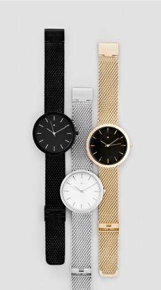 themaxdavis:  Archibald Watches In Black, Silver & Gold 10% Discount code: MaxDavisIloveugly.net