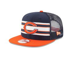 cf84ce7ac25 Chicago Bears NFL Throwback Stripe 9FIFTY Snapback Cap Snapback Hats