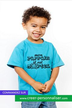 Tee shirt enfants à personnaliser sur cerre_personnaliser.com