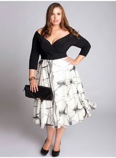 Coctel dress plus size
