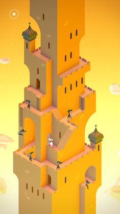 Producing a game that's fun to play and one that looks good is one of the most challenging creative endeavors. Monument Valley Game, Simple Mobile, Isometric Art, Ghost Hunters, Character Modeling, Game Ui, Game Design, Minimalism, Most Beautiful