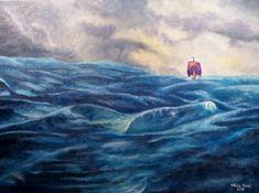 The Voyage of The Dawn Treader by nataliakart on DeviantArt Aslan Narnia, Fanart, Best Authors, Chronicles Of Narnia, Nautical Nursery, Cute Diys, Dark Fantasy Art, Aesthetic Art, Art Inspo